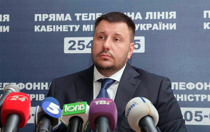 Ex-minister of Revenues and Duties Oleksandr Klymenko denies negotiations on the returning to the public service
