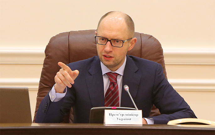 Yatsenyuk implements tax reforms according to Klymenko's recipes