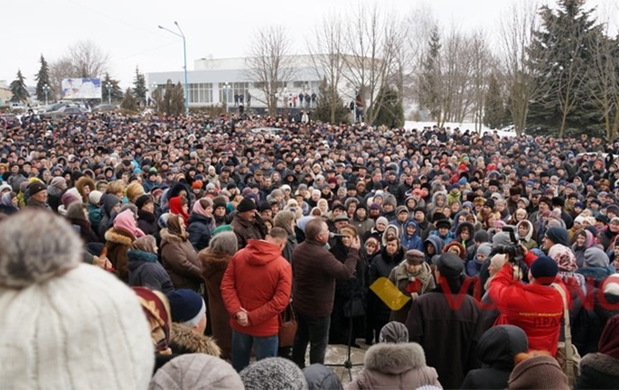 Oleksandr Klymenko: riot in Shargorod – it is the first step towards a dozens of protests in Ukraine