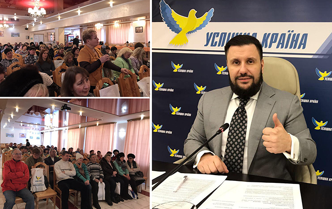 We are fighting not for votes, but for heart of Ukrainians, – Klymenko in Korosten