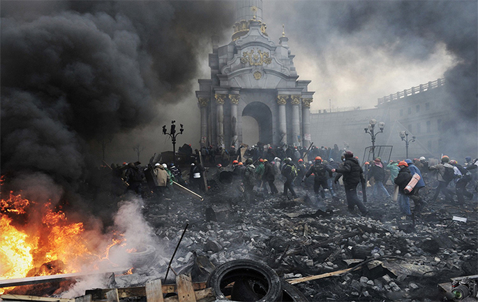 Oleksandr Klymenko about Maidan in Ukraine